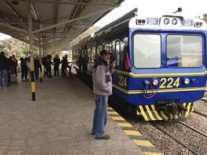 Поезд до Мачу Пикчу